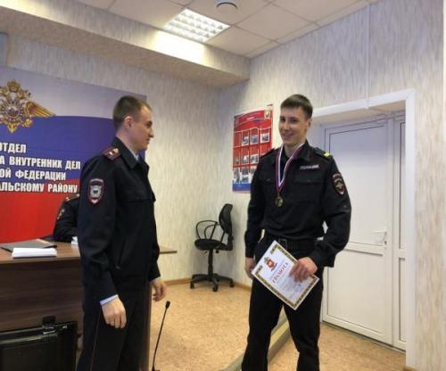 Победа! Верхнеуральский полицейский занял первое место на чемпионате ГУ МВД в Златоусте